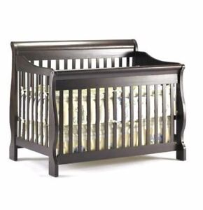 4 in 1 crib and dresser with hutch set