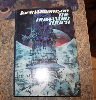 1980 The Human Touch Jack Wililamson science fiction HCDJ - f