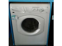 M112 white hotpoint 5kg&5kg 1400spin washer dryer comes with warranty can be delivered or collected