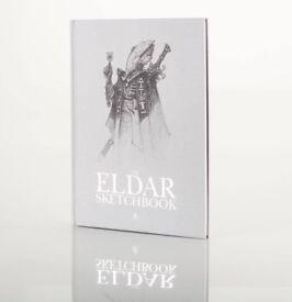 THE ELDAR SKETCHBOOK - JES GOODWIN - LIMITED EDITION - GAMES WORKSHOP - SEALED