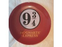 New Harry Potter Platform 9 3/4 Plate