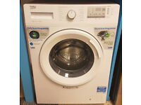 O171 NEW white beko 8kg 1400spin washing machine comes with warranty can be delivered or collected