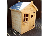 WOODEN CHILDRENS PLAYHOUSE/WENDY HOUSE TOP QUALITY 4x3