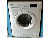 a073 white beko 6kg 1400spin A+ rated washing machine come with warranty can be delivered