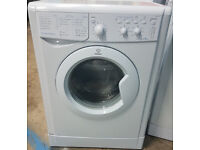m482 white indesit 5kg 1000spin washing machine comes with warranty can be delivered or collected