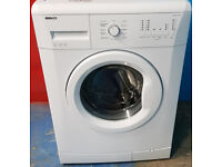 m465 white beko 6kg 1200spin washing machine comes with warranty can be delivered or collected