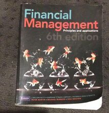 Financial Management 6th edition Harrison Gungahlin Area Preview