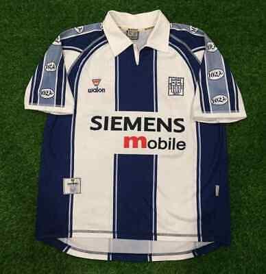 Alianza Lima 2003-2004 Peru Soccer Jersey Football Shirt Size L image