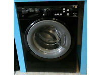 b066 black hotpoint 7kg 1400spin A** rated washing machine come with warranty can be delivered