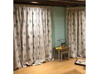 John Lewis Olive Tree design curtains - 1 pair left