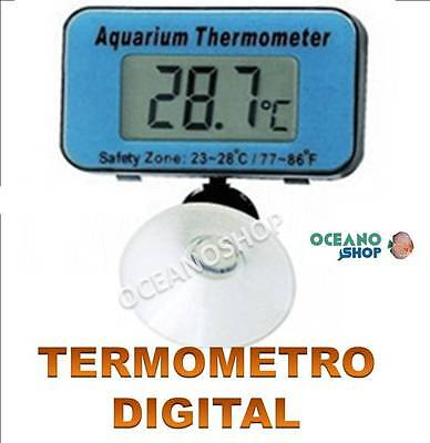 TERMOMETRO LCD DIGITAL DE PRECISIÓN PARA ACUARIO VENTOSA TERRARIO NEVERA