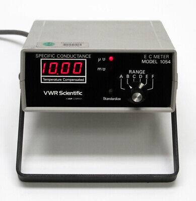 Vwr Scientific Model 1054 Specific Conductance E-c Meter -tested-