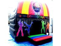 disco dome for 4 hour hire bouncy castle hire scooby doo or disco karaoke also available