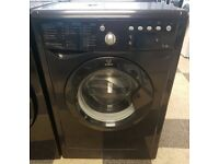 a500 black indesit 7kg 1400spin washing machine comes with warranty can be delivered or collected