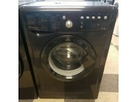 a500 black indesit 7kg 1400spin washing machine come with warranty can be delivered or collected