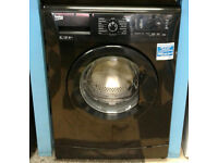 c792 black beko 6kg 1400spin A** rated washing machine come with warranty can be delivered