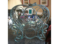Vintage Style wine Rack Cast Iron