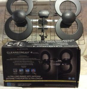 ClearStream 4V Indoor/Outdoor HDTV Antenna