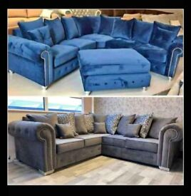 😅😅mega sale on Brand New Fabric 3+2 and Corner Sofa Set Available with 1-Year warranty 😅😅