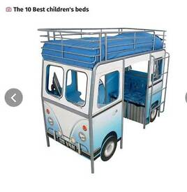 Boys campervan bed