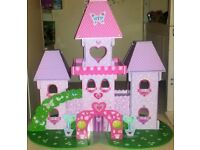 Early Learning Centre ELC Fairy Princess Wonderland Wooden Castle with figures and accessories
