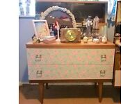 shabby chic retro dressing table