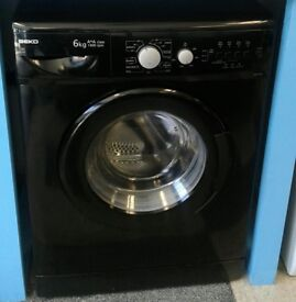 g708 black beko 6kg 1400spin washing machine comes with warranty can be delivered or collected