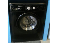 a708 black beko 6kg 1400spin A*A rated washing machine come with warranty can be delivered