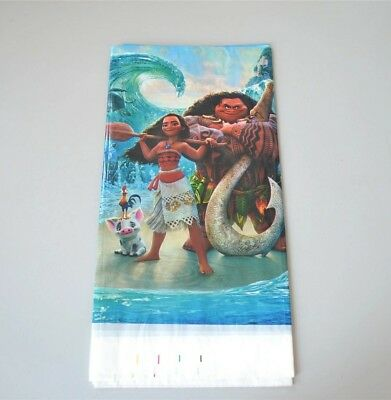 Moana Tablecloth Plastic 108 x 180cm Party Birthday Kids party supplies