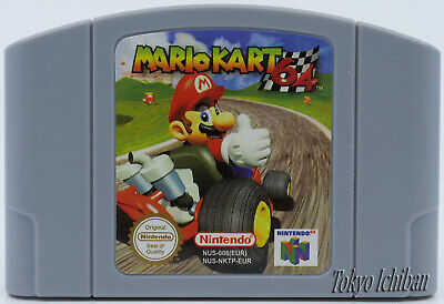 Nintendo 64 - Mario Kart 64 N64 - Pal EUR / Repro