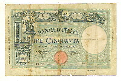 1 rare old Banknote from Italy!