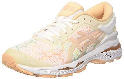 ASICS Running Ladies Shoes GEL-KAYANO 24 LITE-SHOW T8A9N White US7.5(24.5cm) 3c1ae5e5ec9