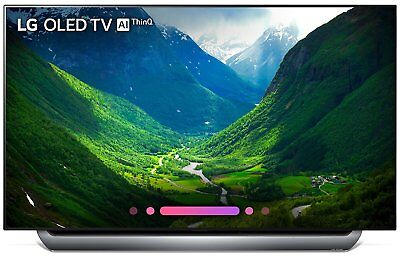 "LG 55"" 4K Ultra HD HDR Ultra Thin Smart OLED TV 2018 Model - OLED55C8PUA"