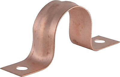 Lot Of 100 34 Od 78two Hole Copper Fitting Pipe Tube Strap Plumbing