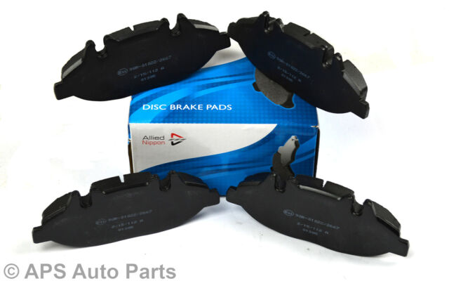 Genuine Allied Nippon Mercedes Benz Viano Vito W639 Front Axle Brake Pads New