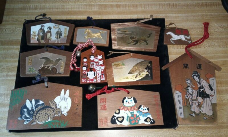 Ema Shinto Buddhist Prayer Boards Japan