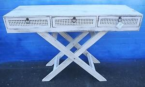 New White Shabby Chic Timber Provincial Console Hall Tables Melbourne CBD Melbourne City Preview