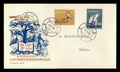 DR WHO 1959 NORWAY FDC AGRICULTURE  C243269