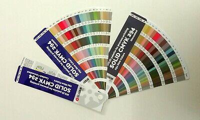 New 294 Pantone For Process Printing - Set Coateduncoated