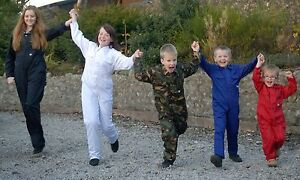 NEW-KIDS-CHILDS-BOILERSUIT-OVERALL-COVERALL-AGE-6-7