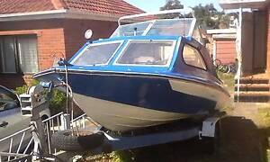 Boat and Trailer needs new home ASAP Hurstville Hurstville Area Preview