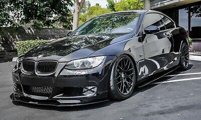 2007-2012 BMW 328i/335i Front Lip Splitter Vert/Coupe [E92/E93] M-Sport Bumper