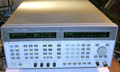 Agilent 8644a 252 Khz To 2060 Mhz Synthesized Signal Generator Opt 001 002 007