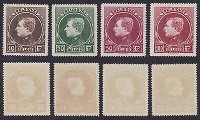 Belgium 1929 - MNH Stamps Set MONTENEZ Cob# 289/92 - Cat Value 800 €.......X1773