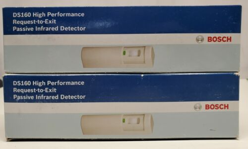 2 Bosch DS160 High Performance Request To Exit Passive Infrared Detector