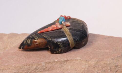 """Zuni Picasso Marble Mole Fetish 2 7/8"""" x  1 1/2"""""""