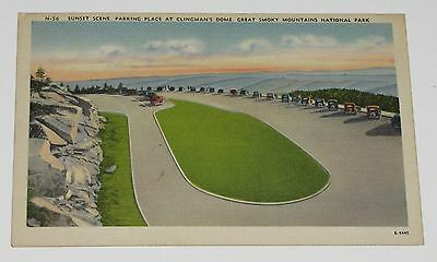 Sunset Dome (VTG POSTCARD ~ SUNSET CLINGMAN'S DOME GREAT SMOKY MOUNTAINS NATIONAL PARK UNUSED)