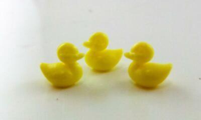 Melody Jane Dolls House 3 Ducks Miniature 1:12 or 1:24 Bathroom Garden Accessory