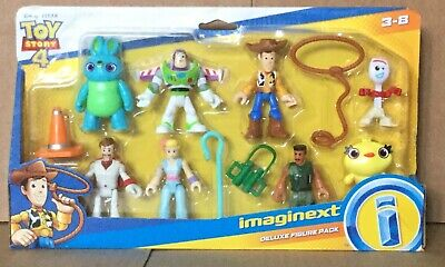 Fisher Price Imaginext Toy Story 4 Deluxe Figure Set NEW