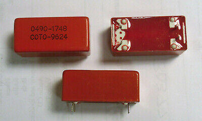 Coto 0490-1748 Spst 500v 2a Reed Relay - New - Used In Hp Test Equipment